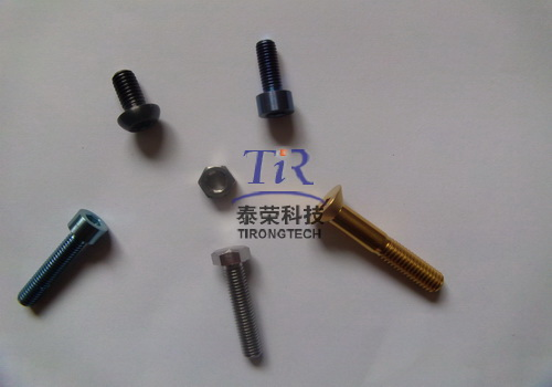 titanium screw nut